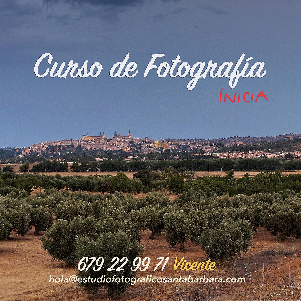 Curso Fotografía Toledo